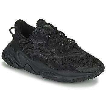 Schoenen Kinderen Lage sneakers adidas Originals OZWEEGO J Zwart