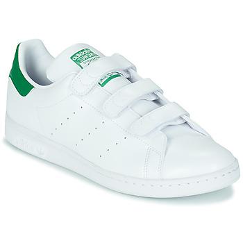 Schoenen Lage sneakers adidas Originals STAN SMITH CF SUSTAINABLE Wit / Groen