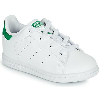 Schoenen Kinderen Lage sneakers adidas Originals STAN SMITH EL I SUSTAINABLE Wit / Groen