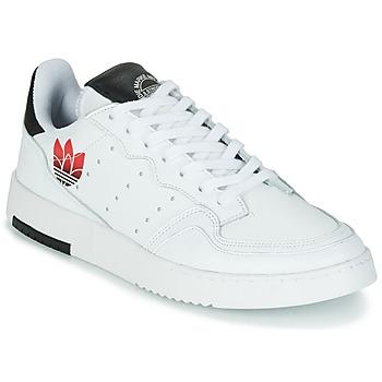 Schoenen Dames Lage sneakers adidas Originals SUPERCOURT Wit / Zwart