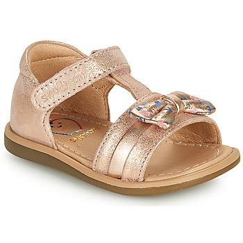 Schoenen Meisjes Sandalen / Open schoenen Shoo Pom TITY NEW KNOT Roze