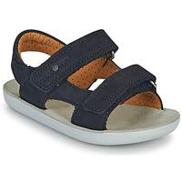 Schoenen Jongens Sandalen / Open schoenen Shoo Pom GOA BOY SCRATCH Blauw