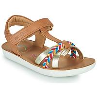 Schoenen Meisjes Sandalen / Open schoenen Shoo Pom GOA SALOME Brown