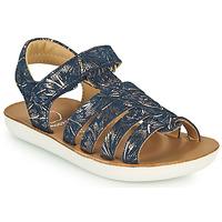 Schoenen Meisjes Sandalen / Open schoenen Shoo Pom GOA SPART Blauw