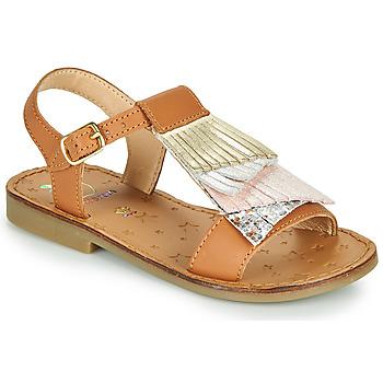 Schoenen Meisjes Sandalen / Open schoenen Shoo Pom HAPPY FALLS Brown