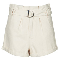 Textiel Dames Korte broeken / Bermuda's Betty London ODILE Beige