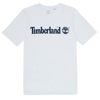 Textiel Jongens T-shirts korte mouwen Timberland FONTANA Wit