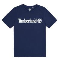 Textiel Jongens T-shirts korte mouwen Timberland VUILL Marine