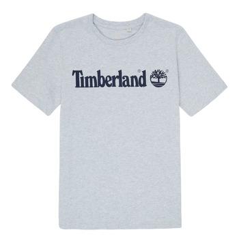 Textiel Jongens T-shirts korte mouwen Timberland NINNO Grijs