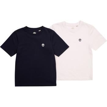 Textiel Jongens T-shirts korte mouwen Timberland FONNO Multicolour