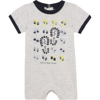 Textiel Jongens Jumpsuites / Tuinbroeken Timberland SUPLLI Grijs