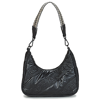 Tassen Dames Handtassen lang hengsel Desigual BOLS_TAIPEI MEDLEY Zwart