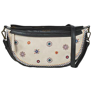 Tassen Dames Handtassen lang hengsel Desigual BOLS_CRISTAL MOON_LUISIANA Beige