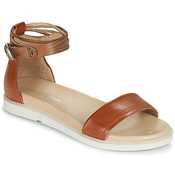 Schoenen Dames Sandalen / Open schoenen Dream in Green IRVANI Brown