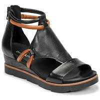 Schoenen Dames Sandalen / Open schoenen Dream in Green LIRABIEN Zwart