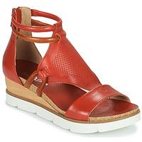 Schoenen Dames Sandalen / Open schoenen Dream in Green LIRABIEN Orange