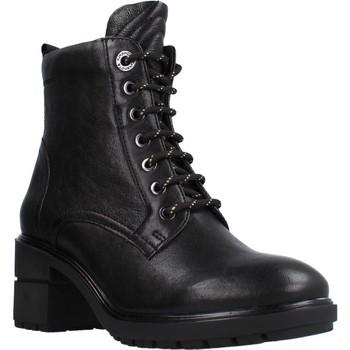 Schoenen Dames Enkellaarzen Stonefly TRESY 1 WASHED GOAT Zwart