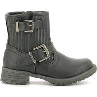 Schoenen Kinderen Laarzen Wrangler WG16205B Noir