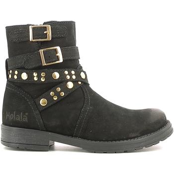 Schoenen Kinderen Laarzen Holalà HL120008L Zwart