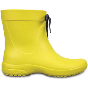 Schoenen Heren Regenlaarzen Crocs 203851 Geel