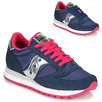 Schoenen Dames Lage sneakers Saucony JAZZ ORIGINAL Blauw / Roze