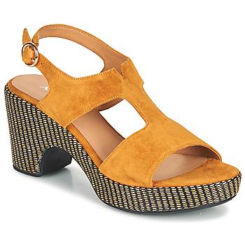 Schoenen Dames Sandalen / Open schoenen Adige ROMA V7 UNER SAFRAN Brown