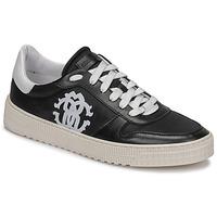 Schoenen Heren Lage sneakers Roberto Cavalli GEL Zwart