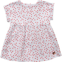 Textiel Meisjes Korte jurken Carrément Beau Y92119-10B Wit