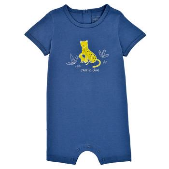 Textiel Jongens Jumpsuites / Tuinbroeken Carrément Beau Y94205-827 Blauw