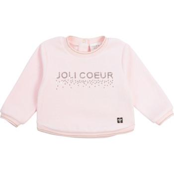 Textiel Meisjes Sweaters / Sweatshirts Carrément Beau Y95254-44L Roze