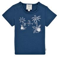 Textiel Jongens T-shirts korte mouwen Carrément Beau Y95274-827 Marine