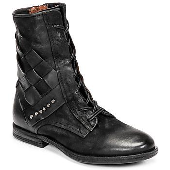 Schoenen Dames Laarzen Airstep / A.S.98 ZEPORT TRESSE Zwart