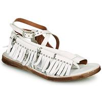 Schoenen Dames Sandalen / Open schoenen Airstep / A.S.98 RAMOS FRANGE Wit