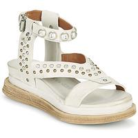 Schoenen Dames Sandalen / Open schoenen Airstep / A.S.98 LAGOS STUD Grijs / Beige