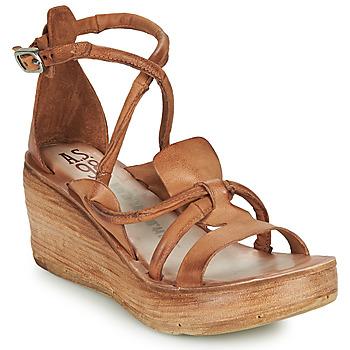 Schoenen Dames Sandalen / Open schoenen Airstep / A.S.98 NOA STRAP  camel