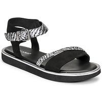 Schoenen Dames Sandalen / Open schoenen Regard ANGERS Zwart