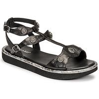 Schoenen Dames Sandalen / Open schoenen Regard ANGLET Zwart