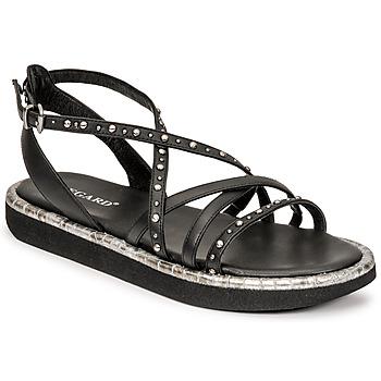 Schoenen Dames Sandalen / Open schoenen Regard ARLES Zwart