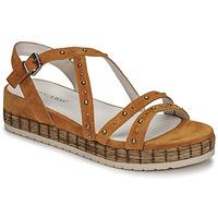 Schoenen Dames Sandalen / Open schoenen Regard CLAIRAC Brown
