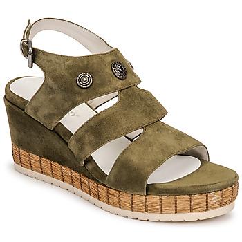 Schoenen Dames Sandalen / Open schoenen Regard DOLLIS Kaki
