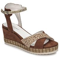 Schoenen Dames Sandalen / Open schoenen Regard DOUAI Brown