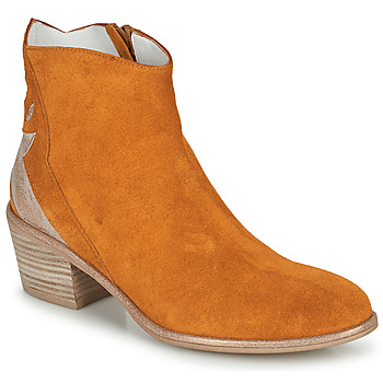 Schoenen Dames Laarzen Regard NEUILLY Brown