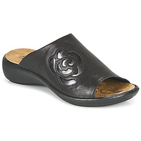 Schoenen Dames Leren slippers Romika Westland IBIZA 117 Zwart