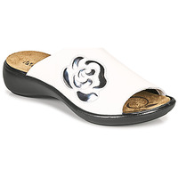 Schoenen Dames Leren slippers Romika Westland IBIZA 117 Wit