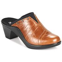 Schoenen Dames Leren slippers Romika Westland ST TROPEZ 271 Brown