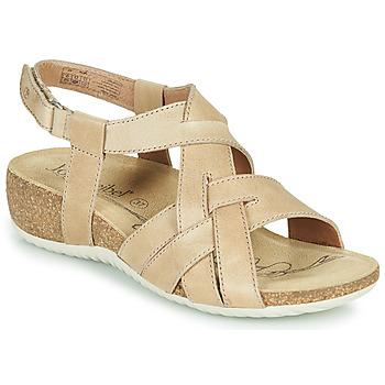 Schoenen Dames Sandalen / Open schoenen Josef Seibel NATALYA 16 Beige