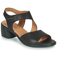 Schoenen Dames Sandalen / Open schoenen Josef Seibel JUNA 02 Zwart