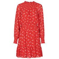 Textiel Dames Korte jurken MICHAEL Michael Kors SIGNATRE LOGO SMCK DR Rood