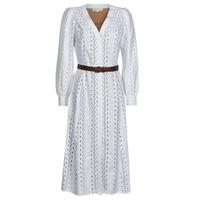 Textiel Dames Lange jurken MICHAEL Michael Kors ROPE STRIPES HEMP DS Wit
