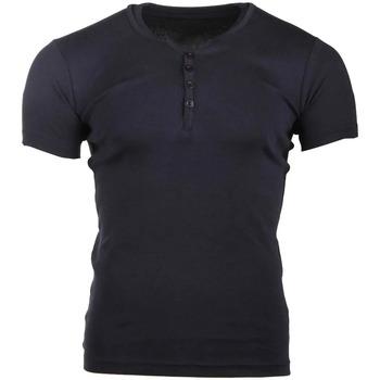 Textiel Heren T-shirts korte mouwen La Maison Blaggio  Blauw